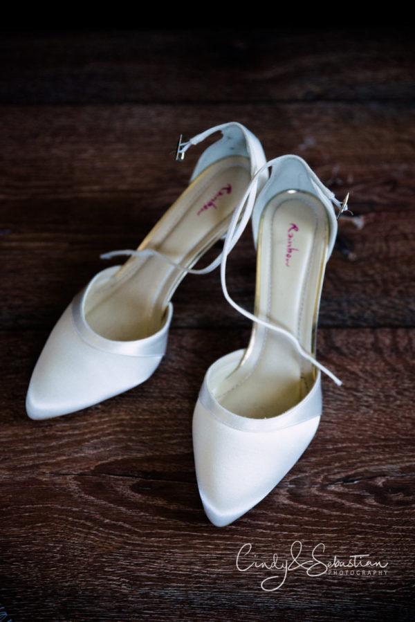 Getting Ready - Schuhe der Braut